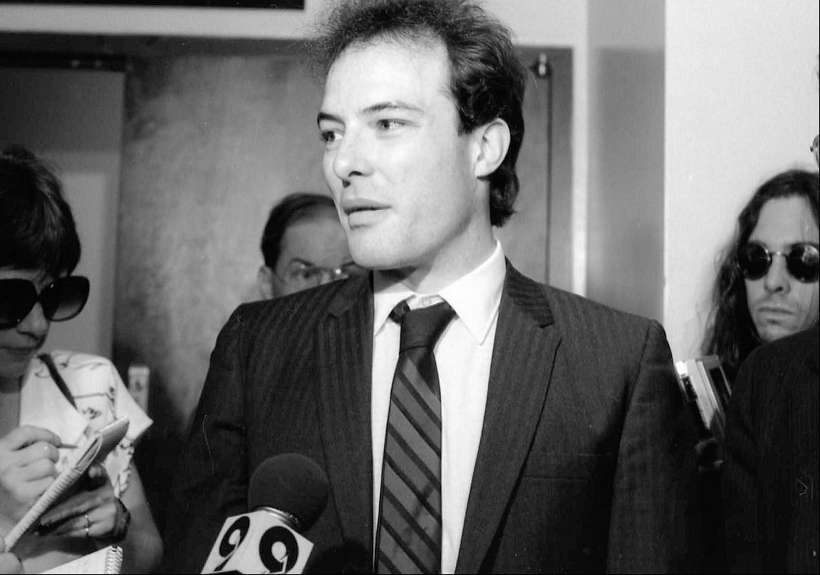 Jello Biafra at the Los Angeles Courthouse, 1987